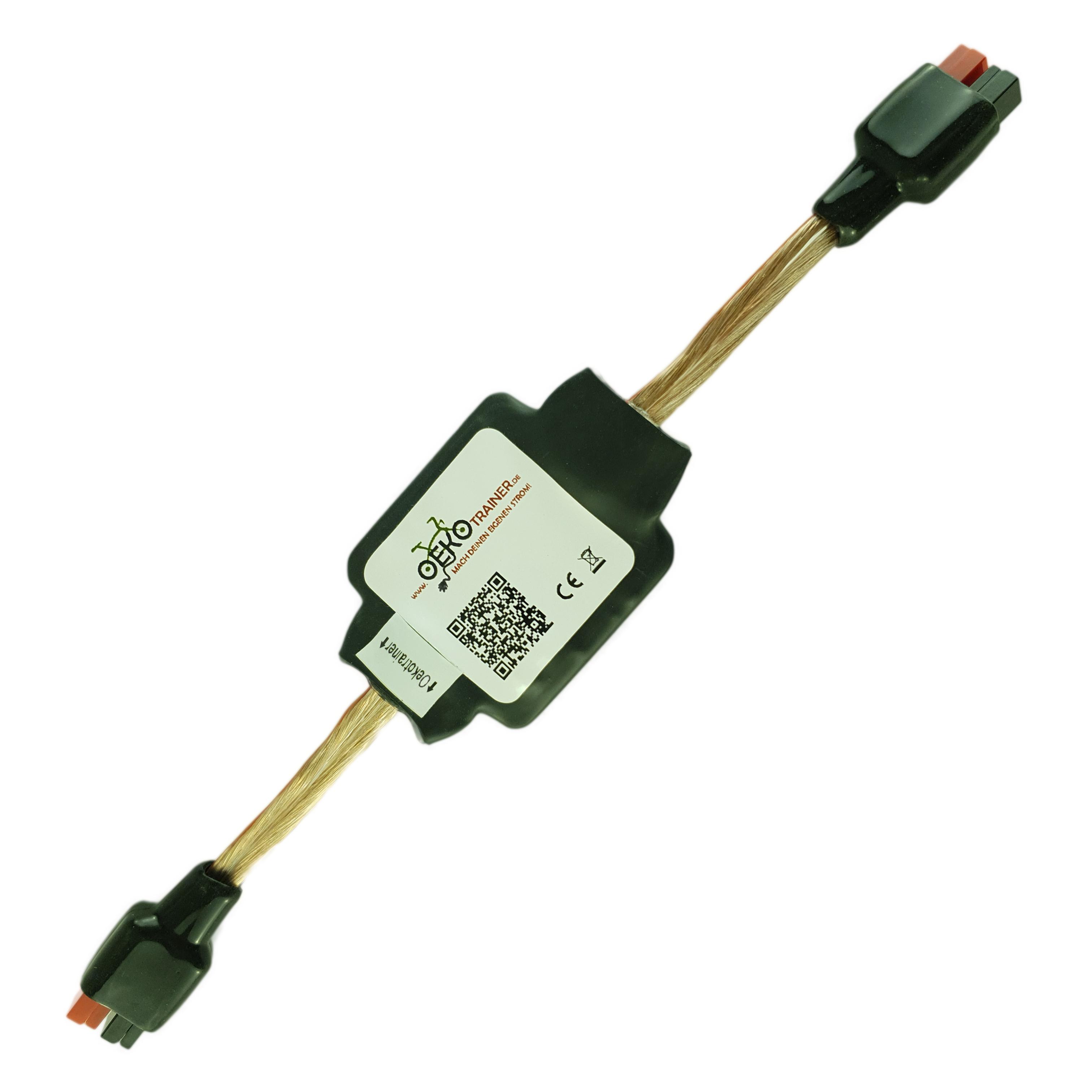 Die PowerBox BT ist ein speziell für den Oekotrainer entwickeltes Leistungsmessgerät, das die Messwerte per Bluetooth LE an ein Android-Gerät übermittelt.