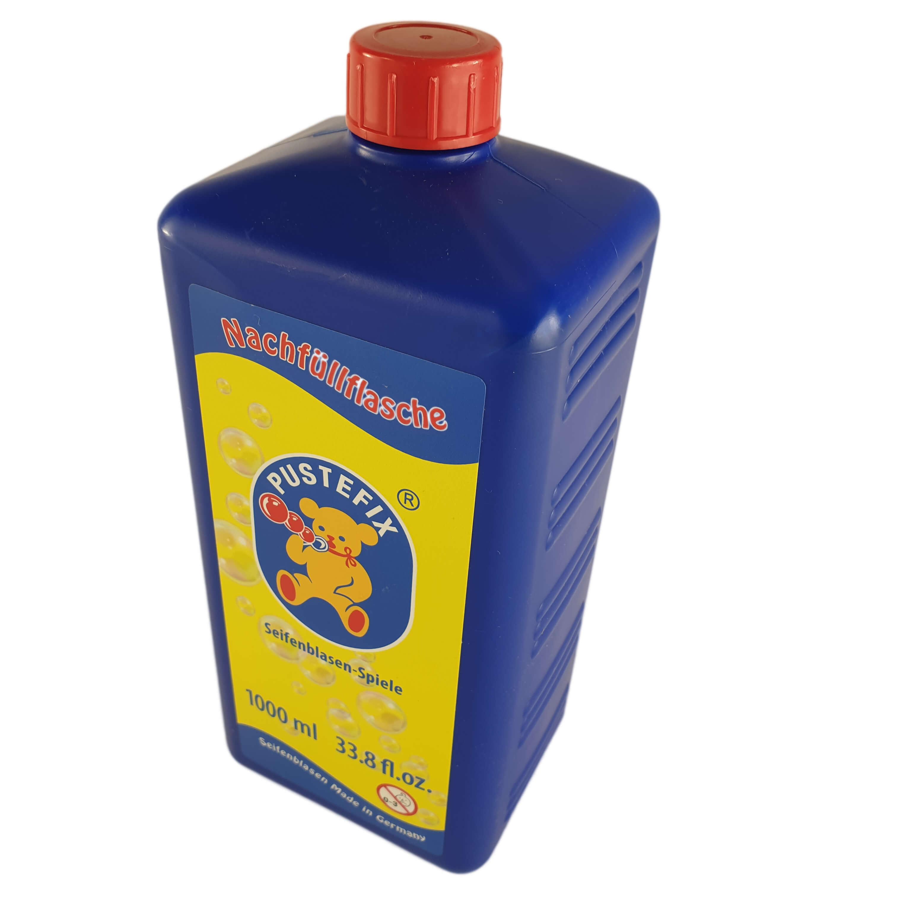 Seifenblasenfluid für die Seifenblasenmaschine.