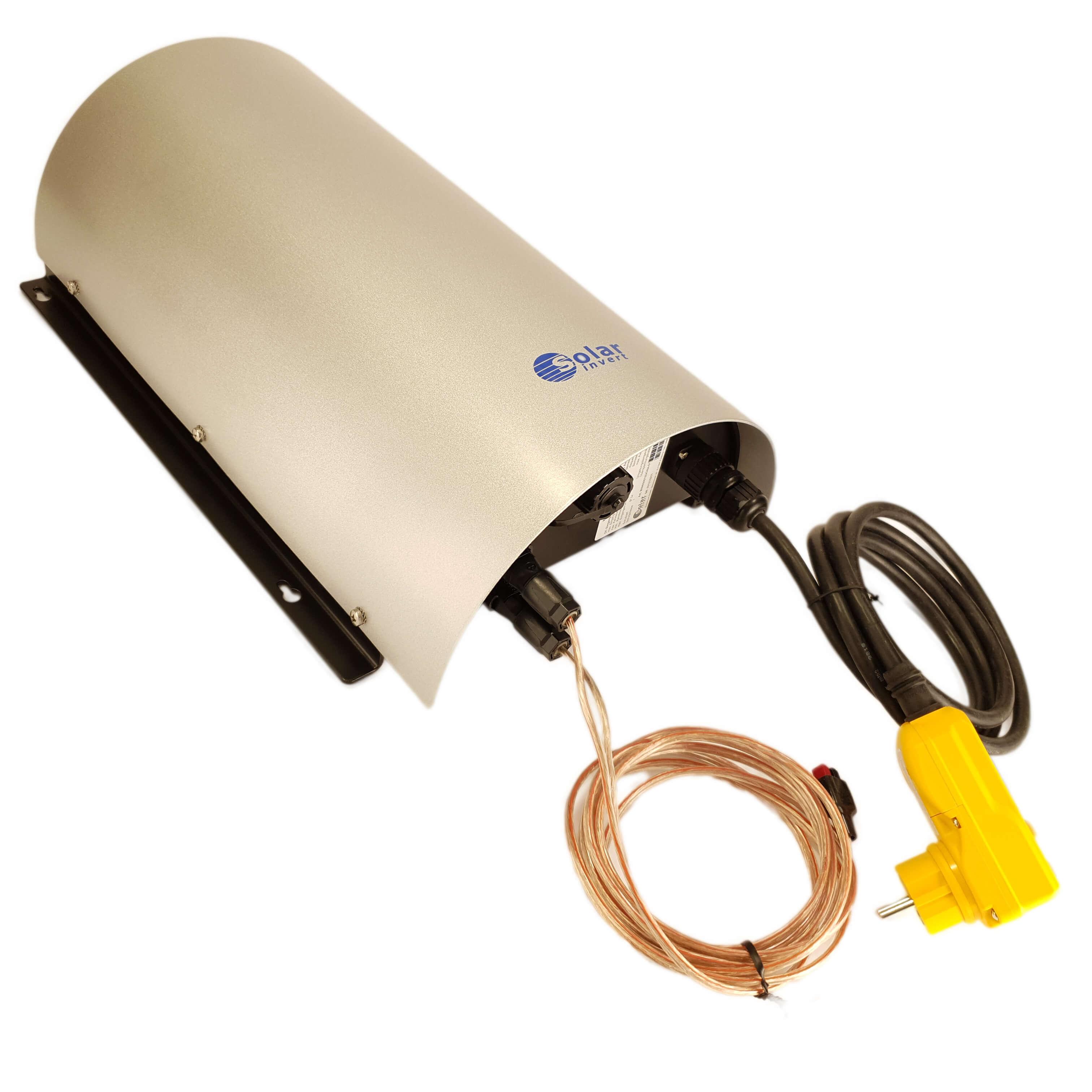 Mithilfe des Netzwechselrichters kann der Strom, der mit dem Oekotrainer erzeugt, wird ins Netz eingespeist werden.