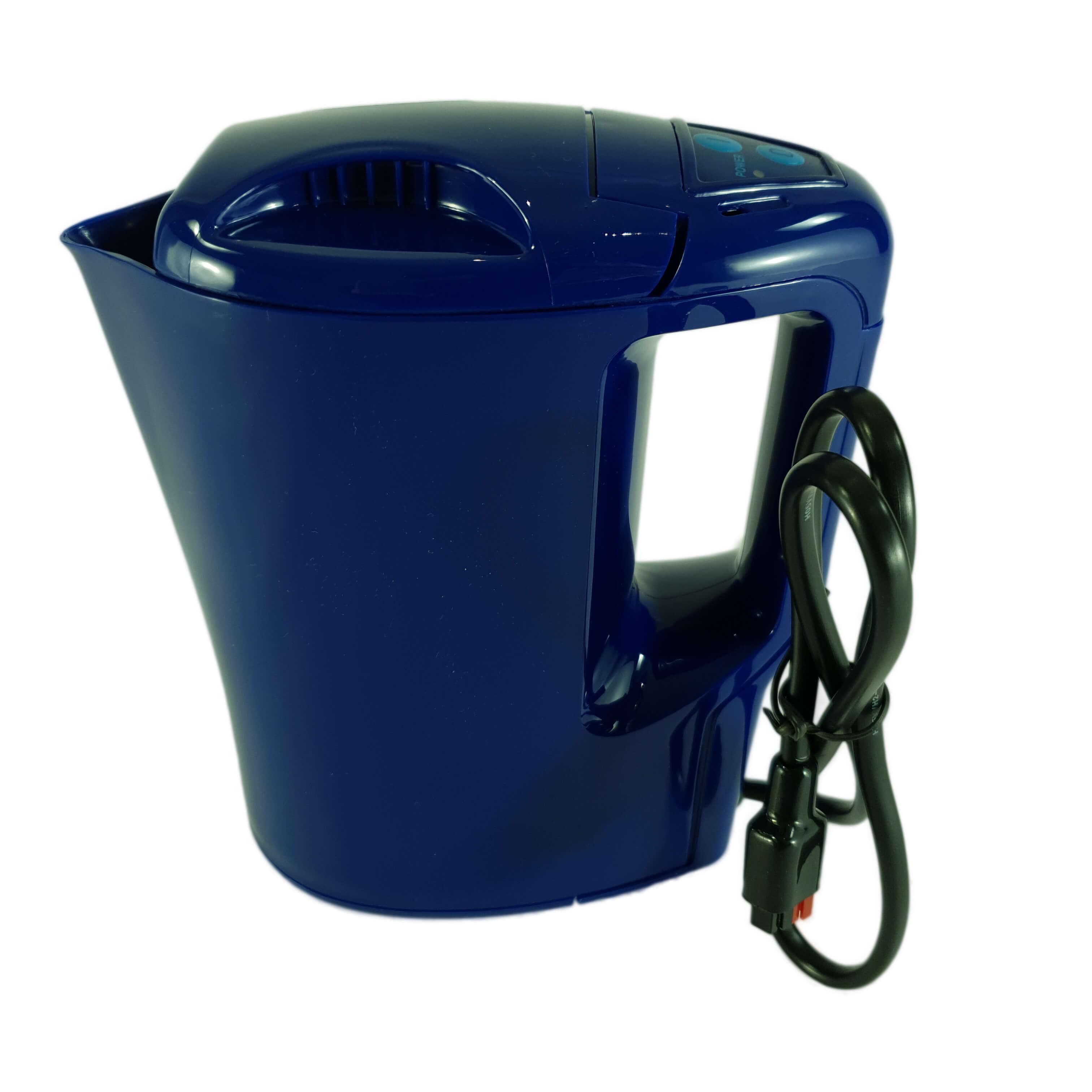 Der Wasserkocher mit bis zu 250W Leistung ermöglicht das Erhitzen kleiner Mengen Wasser mit dem Oekotrainer.